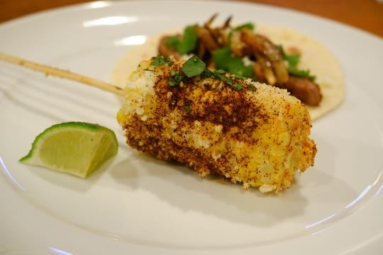 Elote is one way to use the summer abundance of fresh, sweet corn.