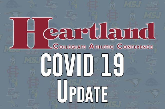The Heartland Collegiate Athletic Conference postponed fall competition for football, men's and women's soccer and women's volleyball until spring.