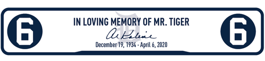 Detroit Tigers' base jewel to honor Al Kaline.