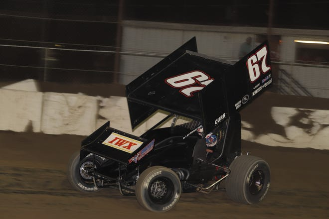 Buddy Kofoid earns his third career Fremont Speedway victory Saturday.