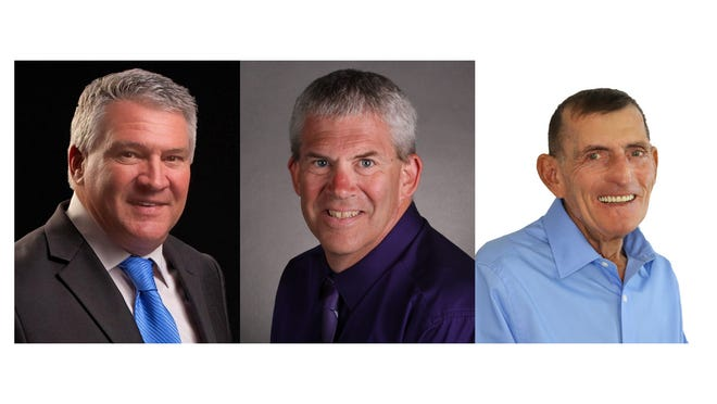 Cape Coral City Council District 3 2020 candidates- Chris Cammarota, Tom Hayden and Joseph Kilraine .