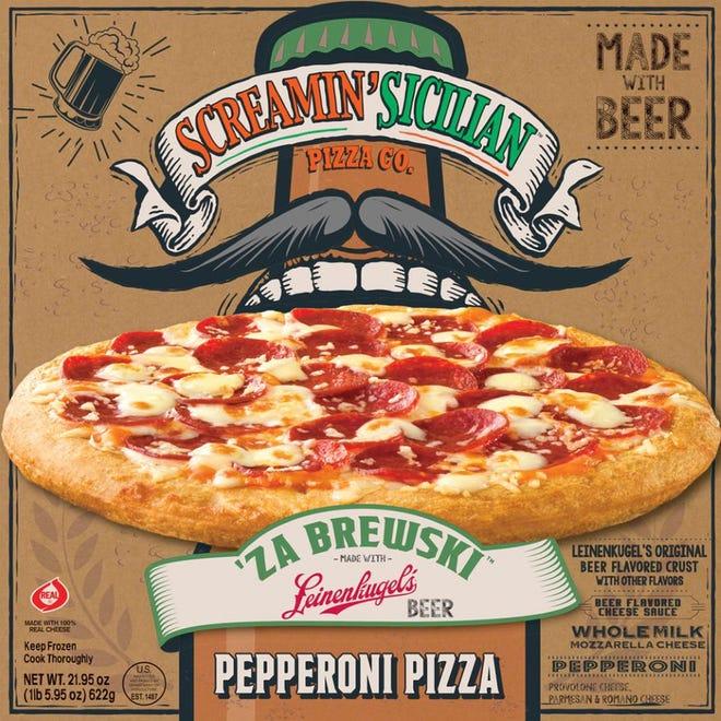 Milwaukee-based Palemo Villa, Inc. and Leinenkugel Brewing Company are releasing the 'Za Brewski line under the Screamin'Sicilian brand.