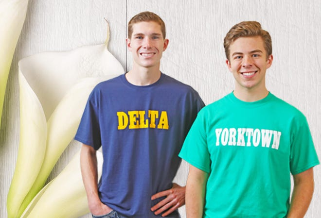 The recipients of the 2020 Lilly Endowment Community Scholarship are Zachary Stanley of Delta High School and Thomas Wilhoite of Yorktown High School.