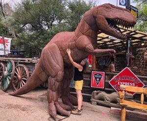 I love dinosaurs - and Sedona.