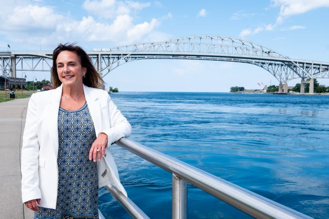 Lisa McClain poses for a portrait Monday, July 27, 2020, in Port Huron.