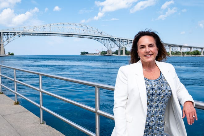 Lisa McClain on Monday, July 27, 2020, in Port Huron.