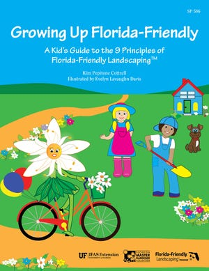 """Growing Up Florida-Friendly,"" was written and illustrated by two Florida Master Gardener Volunteers and designed for grade-school children."