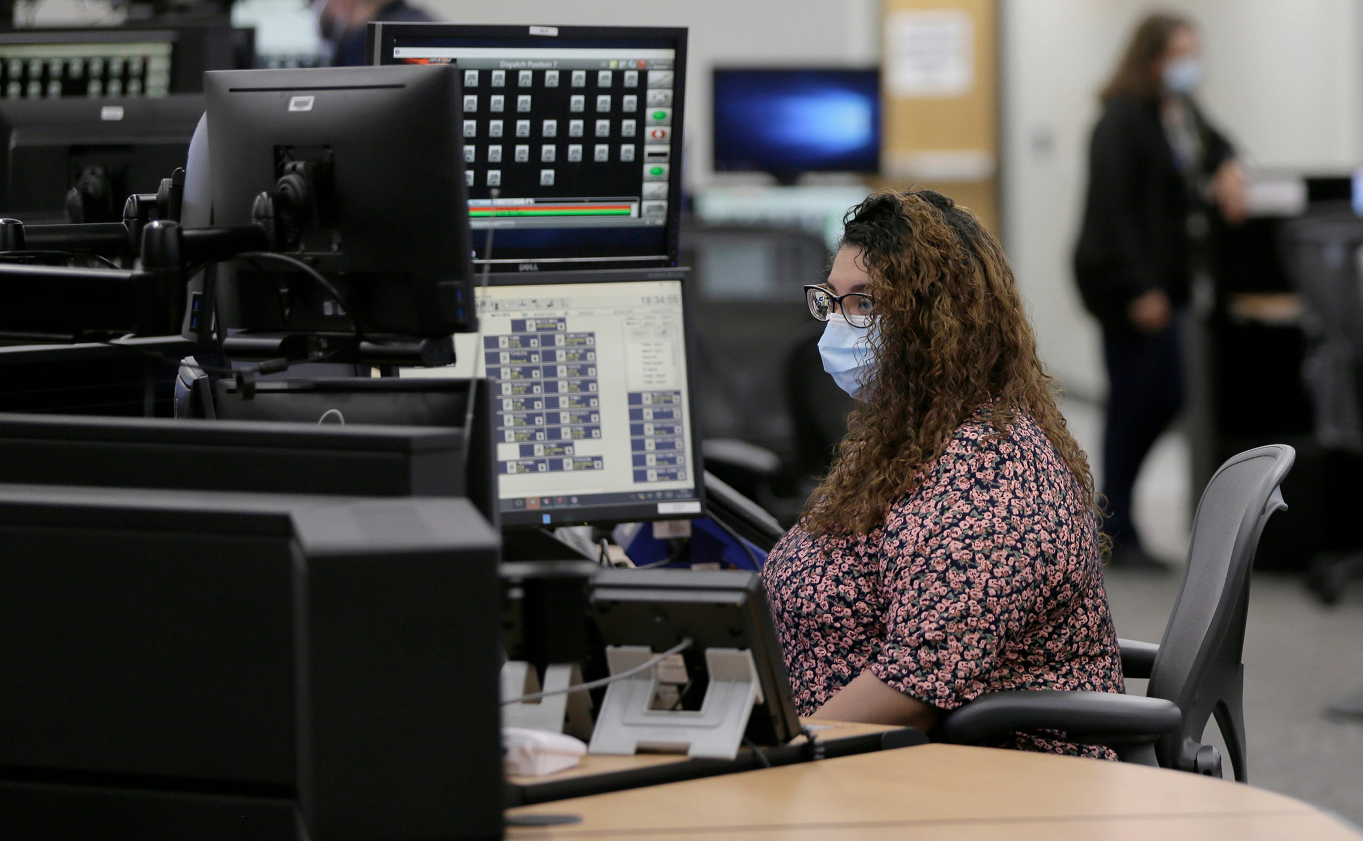 El Paso 911 Fire Dispatcher Jacqueline Castro worked Aug. 3, during the Walmart mass shooting.