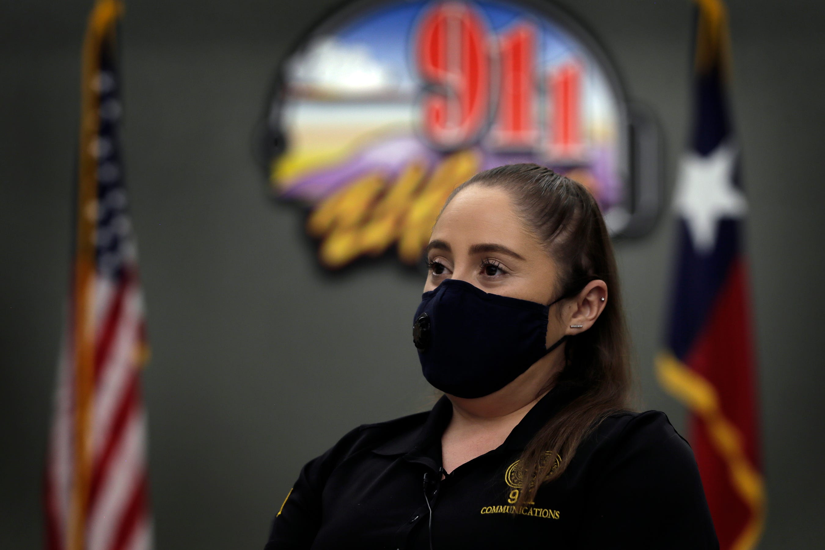 911 Public Safety Telecommunicator Bernardette Falcon took the first call on Aug. 3 during the mass shooting at Walmart in El Paso.