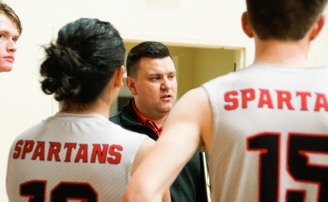With the new CIF sports schedule, Chris Holdsworth will have to coach the Rio Mesa High boys and girls volleyball varsity teams in the same season.