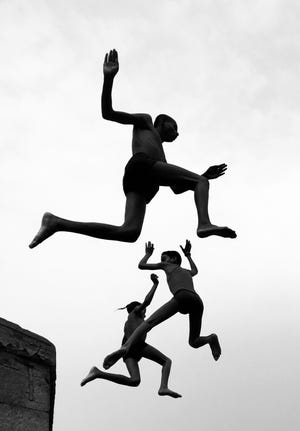 Dimpy Bhalotia of the United Kingdom is the grand prize winner for her image Flying Boys. Shot on iPhone X