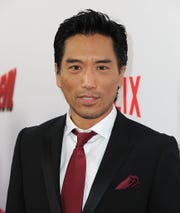 "Actor Peter Shinkoda attends the Premiere of Netflix's ""Marvel's Daredevil"" at Regal Cinemas L.A. Live on April 2, 2015 in Los Angeles, California."