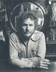 Gordon Lightfoot in a vintage 1970s shot.