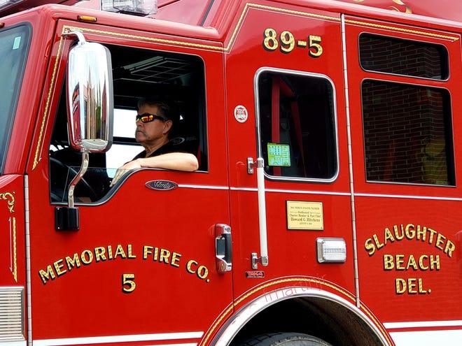 Memorial Fire Company responded to the blaze.
