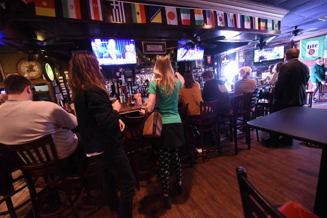Gov. Roy Cooper announced Tuesday that restaurants will have to end alcohol sales at 11 p.m. Bars also are to remain closed as North Carolina continues efforts to try and limit the spread of the coronavirus.