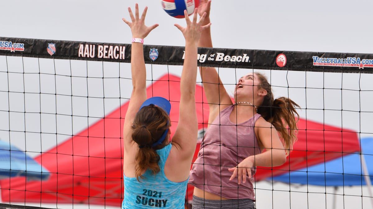 Aau Beach Volleyball Junior Olympic Competition In Brevard County