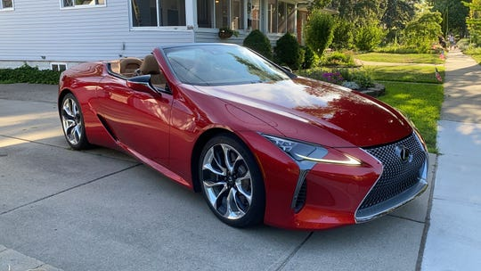 LC 500 convertible takes Lexus style to new heights, but don't mistake it for a sports car