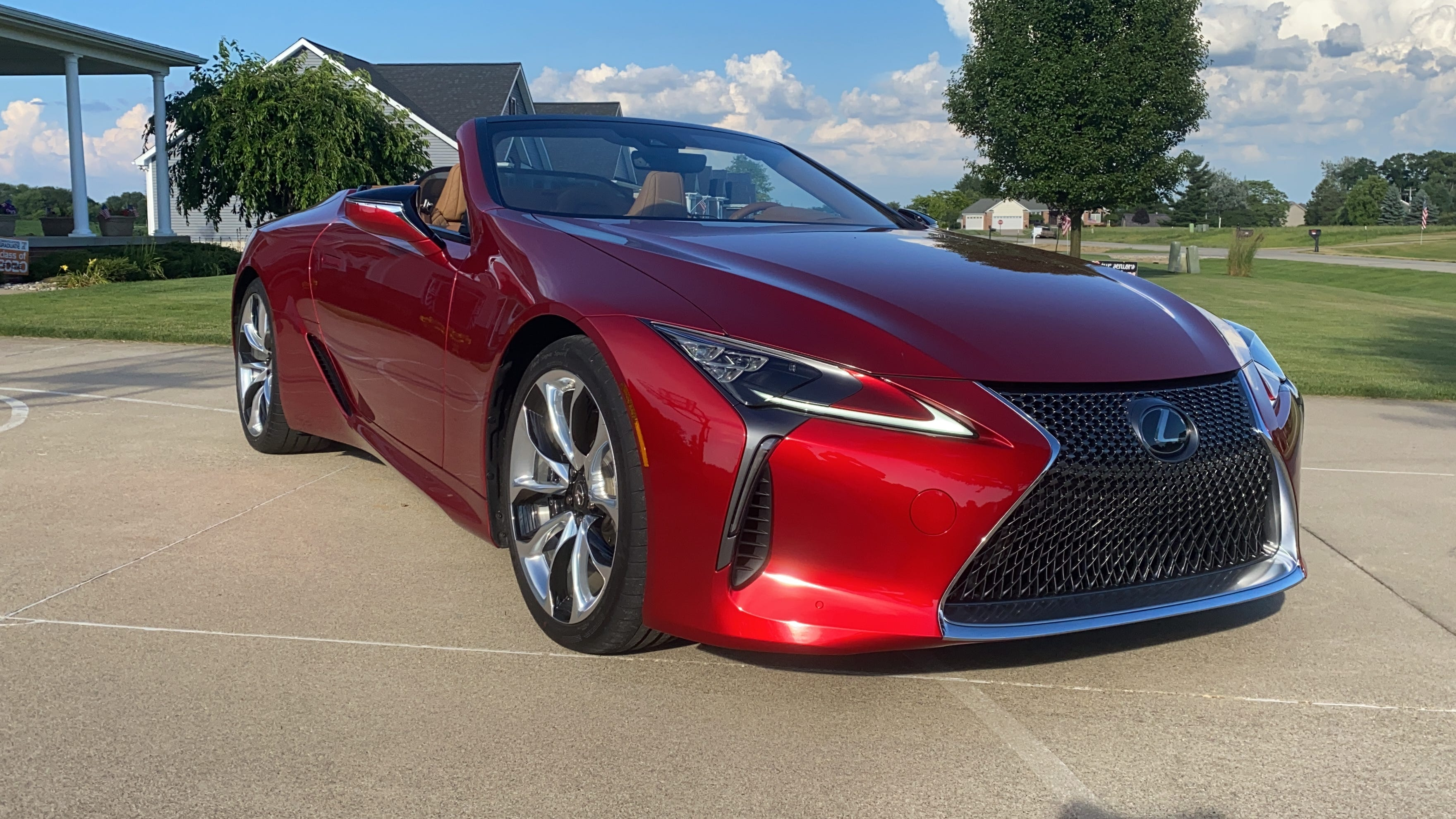 2021 Lexus Lc 500 Convertible Takes The Brand S Style To New Heights