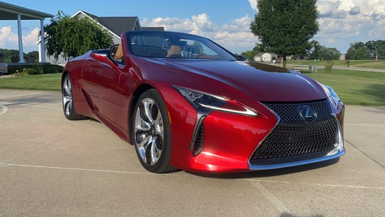 The 2021 Lexus LC 500 convertible sets a new high for design from Toyota's luxury brand.