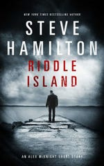 """In Steve Hamilton's """"Riddle Island,"""" private eye Alex McKnight (the hero of 11 novels) investigates a case that has links to the 1975 disappearance of Jimmy Hoffa."""