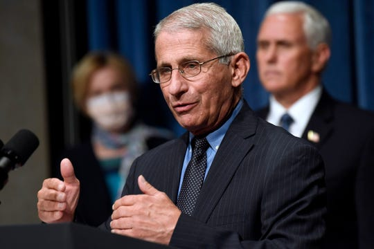 Dr. Anthony Fauci has warned that the United States could soon see 100,000 infections per day.