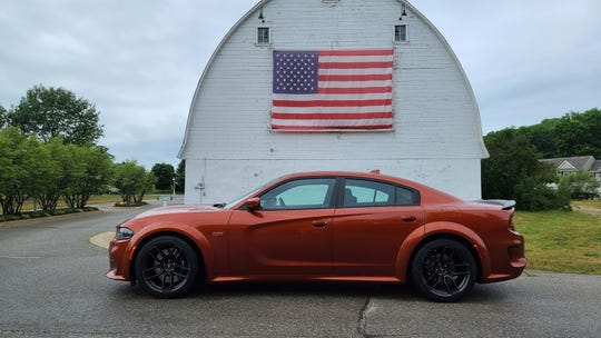 Made in America (almost). The 2020 Dodge Charger Scat Pack Plus is actually assembled in Canada.