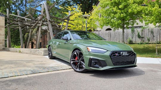 The 2020 Audi S5 Sportback is a size smaller than the Audi A7 Sportback that established Audi as a leading design brand.