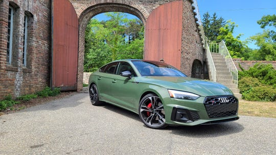 Based on the Audi A5 sedan, the 2020 Audi S5 Sportback is a gorgeous sculpture in District Green with on-demand power and a utilitarian hatchback.