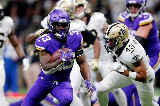 Vikings running back Dalvin Cook is entering the final year of his rookie contract.