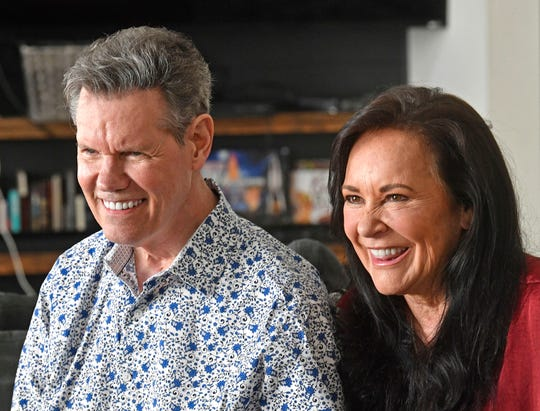 Randy Travis and Country Music House Randy Travis and his wife Mary talk about the release of their first new album - a demo that hasn't been hit since the 1980s - since suffering a stroke in 2013 in Nashville , Tenn.  Tuesday, July 28, 2020