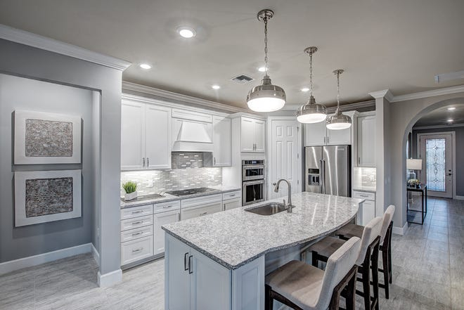One of over 75 floor plans to choose from is the Summerwood at Avalon Park by Pulte Homes.