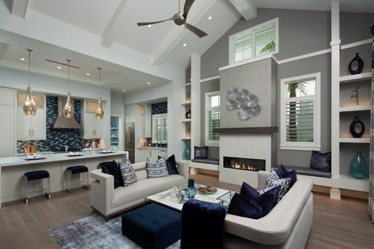 One of four models at Mangrove Bay that features interiors by Clive Daniel Home.