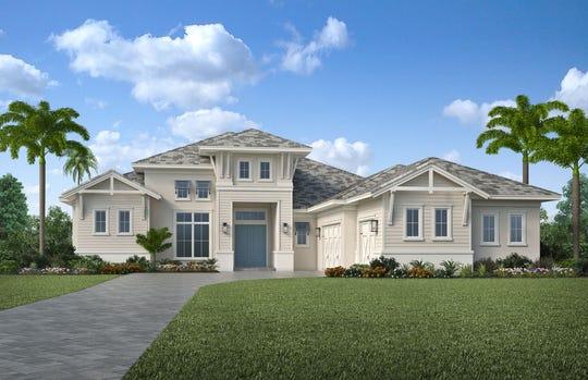 Clive Daniel Home recently installed furnishings for Ashton Woods' Pontevedra VI model home in Marsh Cove at Fiddler's Creek