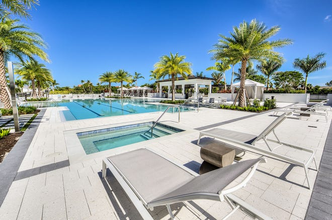 Residents at Eleven Eleven Central  will enjoy an approximately 60,000 square foot courtyard amenity deck that features a 3,500 square-foot resort style pool with a beach entry and 90-foot lap lanes.