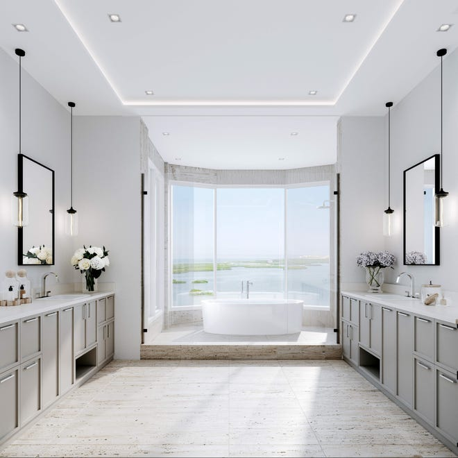 The Ronto Group has included a luxurious array of finishes and features in each of the residences at its 27-floor Omega high-rise tower within Bonita Bay.