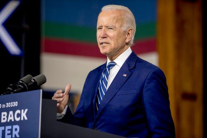 Joe Biden, candidato demócrata a la presidencia de EEUU.