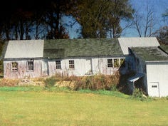 This 1880 cheese factory was closed, mostly forgotten and served as a junk storage building on the Blum farm from 1919 until 2005, when it got new life.