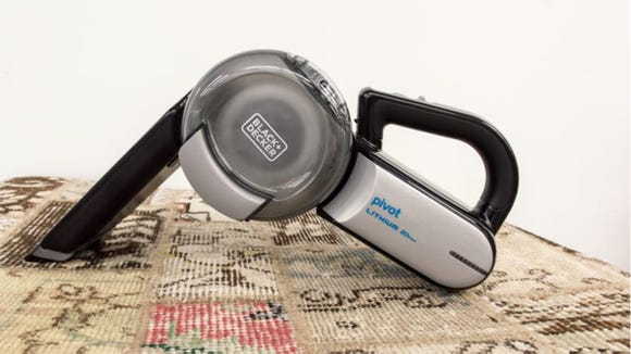 We're obsessed with this Black + Decker vacuum.