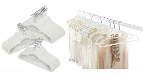 You can never have too many hangers.