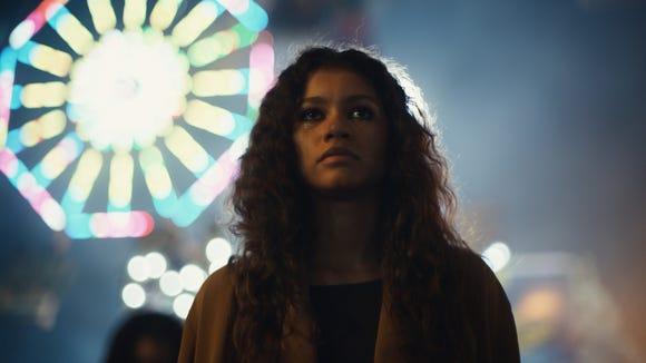 Zendaya won best actress for Euphoria.