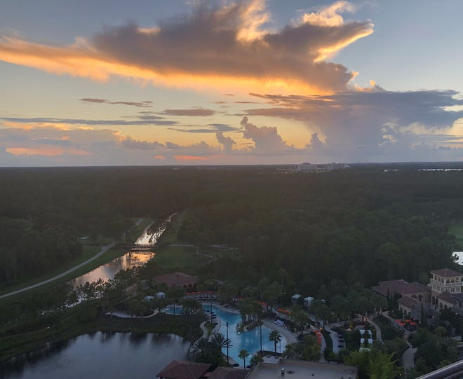 Four Seasons Resort Orlando at Walt Disney World offers breathtaking views, which can be enjoyed from your private balcony or while dining outside.