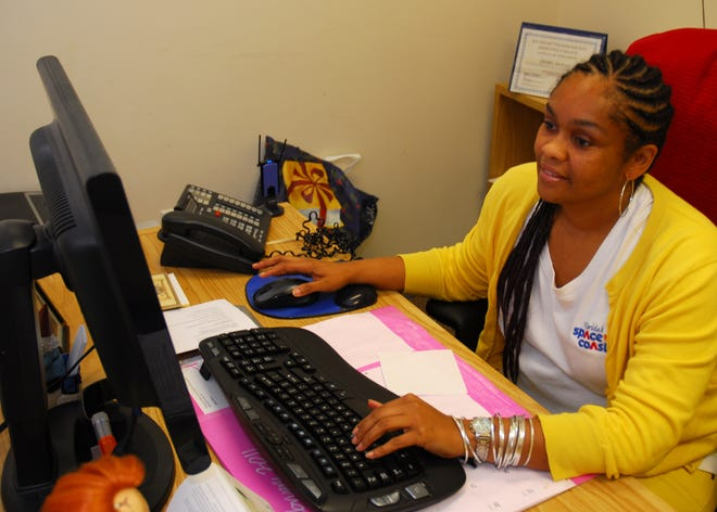 Deidre Jackson, shown in this 2011 photo, when she worked at the Space Coast Office of Tourism, has settled a case she filed through Equal Employment Opportunity Commission after her firing in 2015.