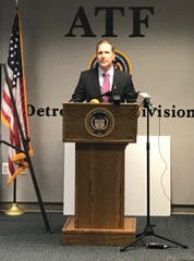 U.S. Attorney Matthew Schneider tells reporters federal agents coming to Detroit will be fighting crime, not going after Black Lives Matter protesters.