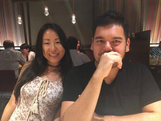 Susie Zhao (kiri) dan Bryce Yockey (kanan). (Bryce Yockey, Khusus untuk Pers Bebas)