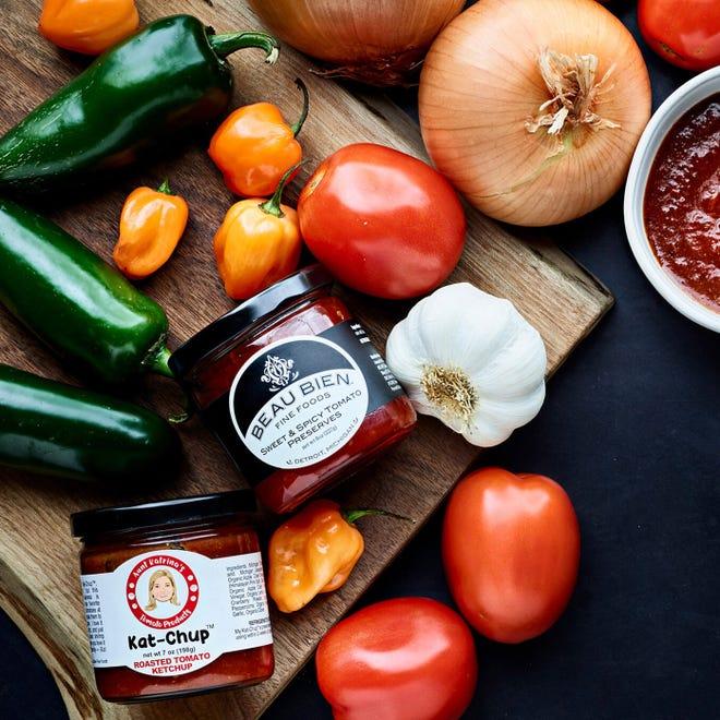 Aunt Katrina's tomato preservation workshop is at Frame in Hazel Park