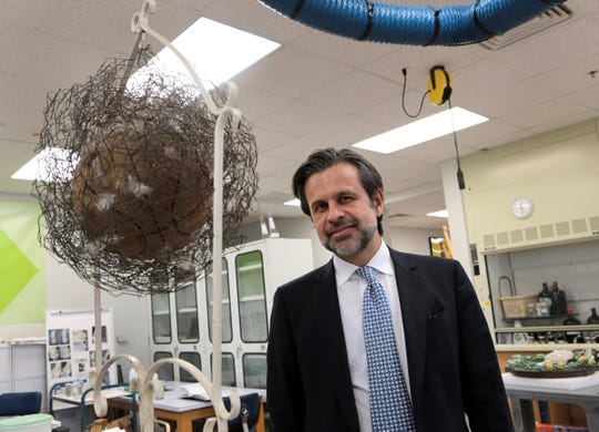 """In 2016, DIA director Salvador Salort-Pons displayed a recent museum acquisition: a  work of conceptual art by the  Black artist David Hammons titled """"Bird."""""""