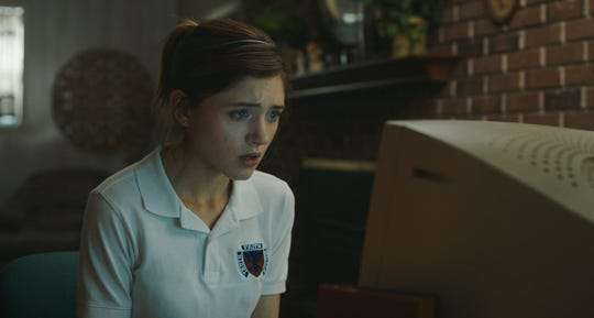 """Natalia Dyer in """"Yes God Yes."""""""