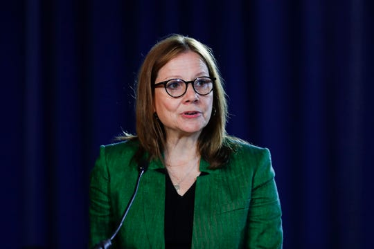 GM Chairman and CEO Mary Barra