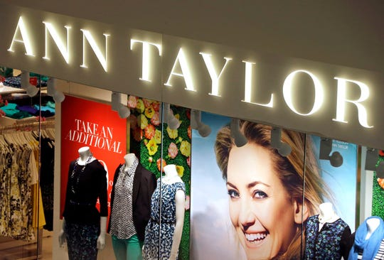 FILE - This March 5, 2013 file photo shows an Ann Taylor store in Mount Lebanon, Pa.