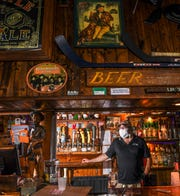 Pete Mastsko, owner of Backstreets Pub & Grill in Clemson looks forward to reopening following some renovations.